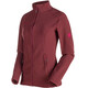 Mammut Yampa ML mid layer Donna rosso
